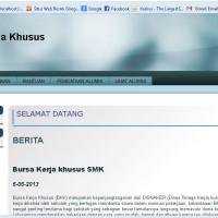 Aplikasi Web Bursa Kerja Khusus SMK Berbasis PHP MYSQL (Source code)