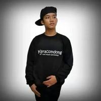 sweater KIARACONDONG hitam/jaket sweater