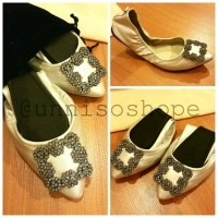 balerina shoes / flat shoes / sepatu wanita /butterfly twist