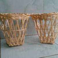 Keranjang Kerajinan Bambu Tahu Sumedang/Buah