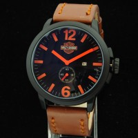jam tangan pria harley davidson CCR795 ( swiss army iwc ripcurl gc )
