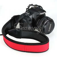 Strap Anti Slip Neoprene Skidproof Shoulder Kalung For ALL CAMERA