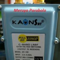 LNB C Band Kaonsat Dual Output