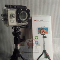 Tongsis/Mini Tripod/Monopod Benro MK10 untuk HP/Camera/GoPRO
