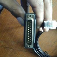 kabel cisco db25 to rj 45 modem /console 72-3663-01