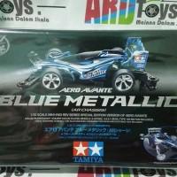 Jual Mini 4WD - Tamiya - Aero Avante Blue Metallic Murah