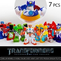 Jual 7pc Transformers Action figure set -Robot Transformer Murah