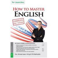 """BUKU BAHASA INGGRIS """" HOW TO MASTER ENGLISH + CD AUDIO """""""