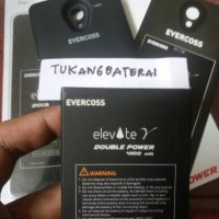 BATERAI EVERCOSS CROSS ELEVATE Y A66A 4100mah DOUBLE POWER + BACK DOOR