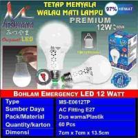 Lampu magic mitsuyama 12watt
