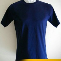 KAOS POLOS O-NECK - COTTON COMBED 20's SIZE XL