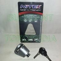 Gembok Cakram Nitex Kunci Cakram Nitex Gembok Motor Nitex