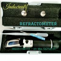 Refraktometer / refractometer / alat ukur konsentrasi bahan terlarut