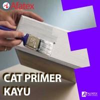 Cat Dasar Kayu / Cat Primer Kayu (Wood Primer Paint) Afatex - 1 Kg