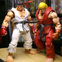 Neca Street Fighter Ryu + Ken (7inc)