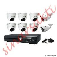 harga Paket cctv Avtech 8 channel HD 1080p ( 2 mega pixel ) Komplit Tokopedia.com