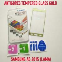 ANTIGORES TEMPERED GLASS GOLD SAMSUNG A5 2015