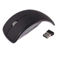 harga Mouse Unik Lipat Aue Wireless Optical Mouse 2.4g M016 - Black Tokopedia.com