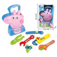 harga Mainan Anak - Peppa Pig Bag Tool Man Tokopedia.com