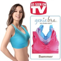 GENIE BRA SUMMER / MADE IN JAPAN / ( 1BOX ISI 3SET/PCS )