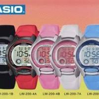 CASIO ORIGINAL / ASLI (JAM TANGAN WANITA&ANAK) LW 200 SERIES
