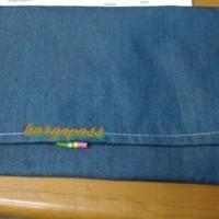 Apron canvas AP3,pelindung dada kanvas jeans ap 3 blue eagle