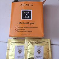 Masker Wajah Aprilia / Masker Naturgo Emas / Gold Bpom Ecer