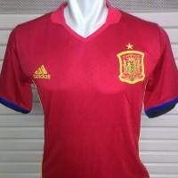 Jual Jersey Spanyol / Spain Home Official EURO 2016 Grade Ori ( GO ) Murah