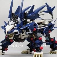 Zoid Liger Zero Jager Blue 1/72 Zoids 030 robot singa blade wolf ligar
