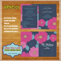 Undangan Vintage Murah BPSC 101 Full Color