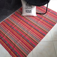 Karpet Kanvas / Canvas Tribal Pink