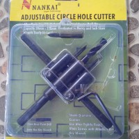 Adjustable Circle Hole Cutter (Holesaw)