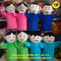 Boneka Tangan Karakter Kartun Upin Ipin/ Mei Mei/ Jarjit/ Mail/ Ehsan