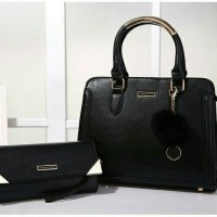 harga tas impor fashion korea branded 2in1 ck charles and keith mewah 2081 Tokopedia.com