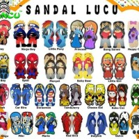 Jual SANCU SANDAL LUCU UKURAN 38,40,42 RESELLER / DROPSHIP WELCOME Murah