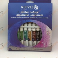 REEVES Watercolor Paint Set 18 Pcs / Cat WaterColour Merk Reeves
