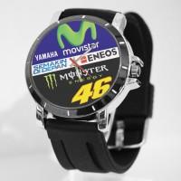 Jam tangan custom Logo VR-46 Movistar