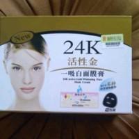 Masker Lumpur Emas 24k 24 K Mask Gold Grosir Masker Wajah Liyanshijia