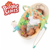 Bright Starts Bouncer Patchwork Zoo Color Full Age 0M+