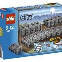 LEGO CITY 7499 FLEXIBLE TRACK - REL KERETA API