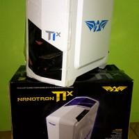Casing Gaming Armageddon T1X White | Cable Management | Side Windows