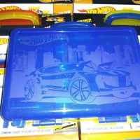 Carry Case Hot Wheels /Box Hot Wheels / Tas Hot Wheels