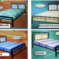 harga Ranjang Minimalis No. 2 Atlantis - Emerald - Eternity | Tempat Tidur Tokopedia.com