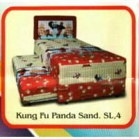 Spring Bed 2in1 Kungfu Panda Murah uk 120 Jabodetabek