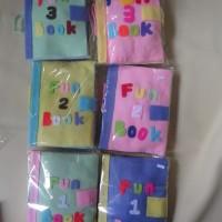 Busy Book Handmade / Fun Book 2 Pink