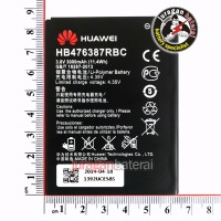 Batere/Batrei/Baterai Huawei HB476387RBC for Ascend G750, G750-T00, B199 Glory 4, Honor 3X - 3000mAh Original