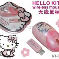 Mouse Wireless Hello Kitty