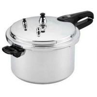 Panci Presto 10 Liter - Trisonic Preasure Cooker - 26 CM - Silver