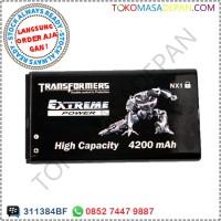 Baterai Batre Blackberry Q10 Nx1 Double Power Transformer 4200 Mah