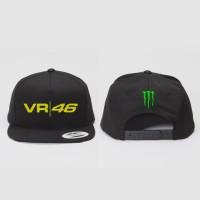 Topi Snapback Monster Energy Valentino Rossi VR46